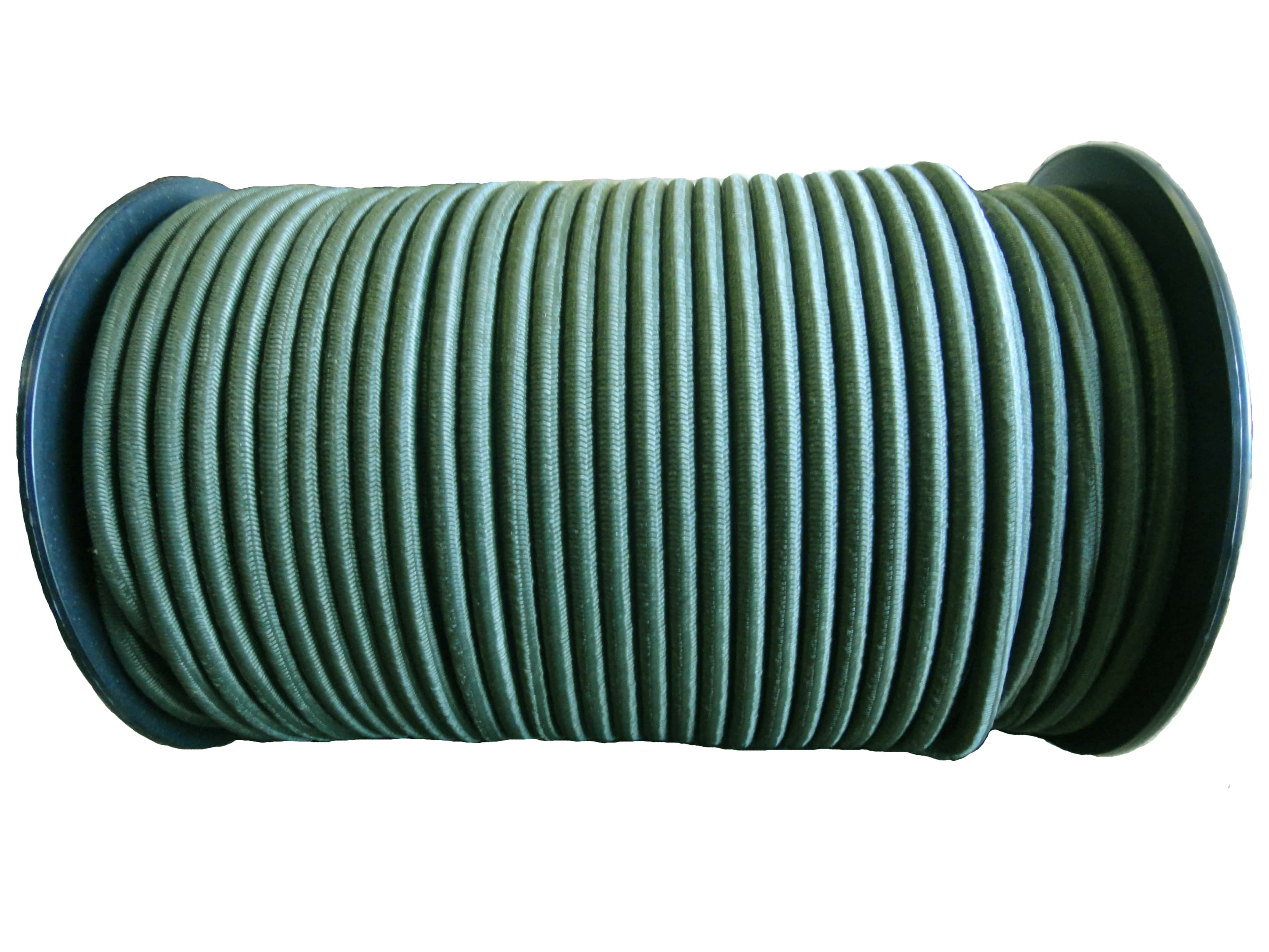 8mm Olive Green Military Bungee Shock Cord